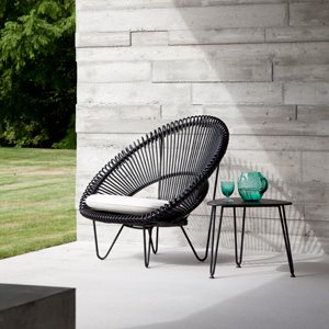 ROY COCOON LOUNGE CHAIR